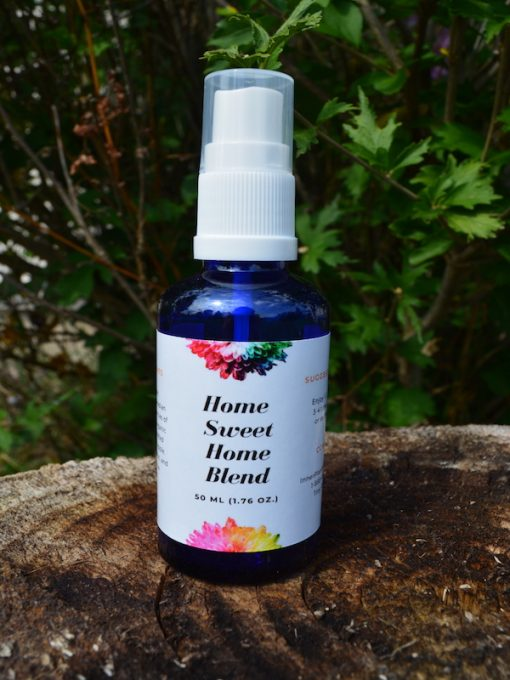 Home Sweet Home - room spray flower essences